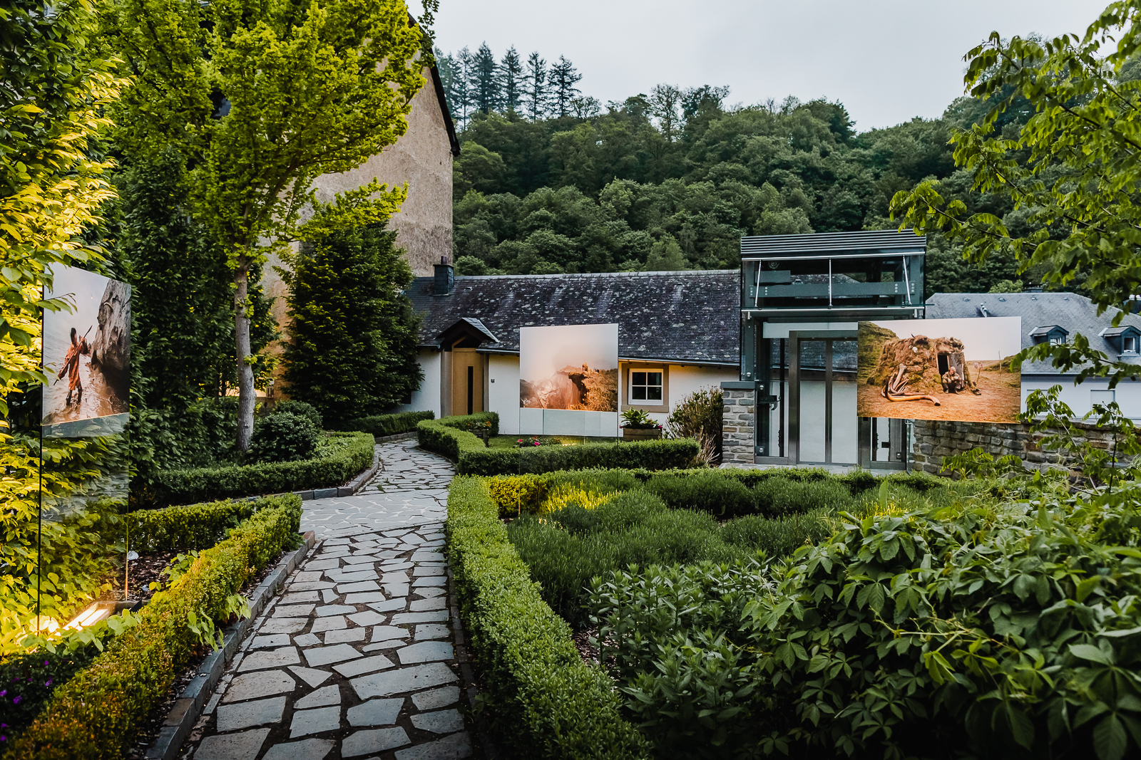 Photo expo at Clervaux castle